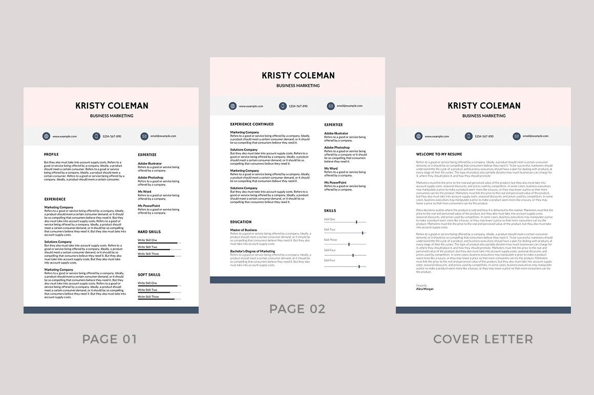 Orleans Free Resume Template