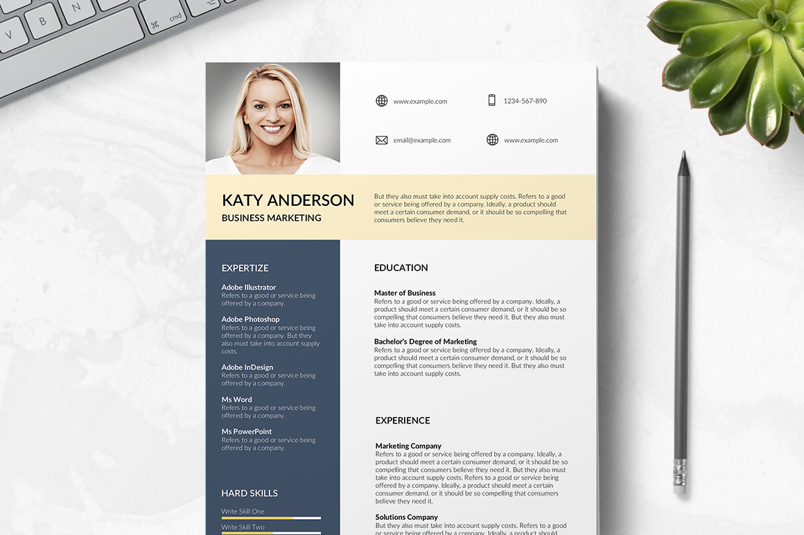 Rennes Free Resume Template