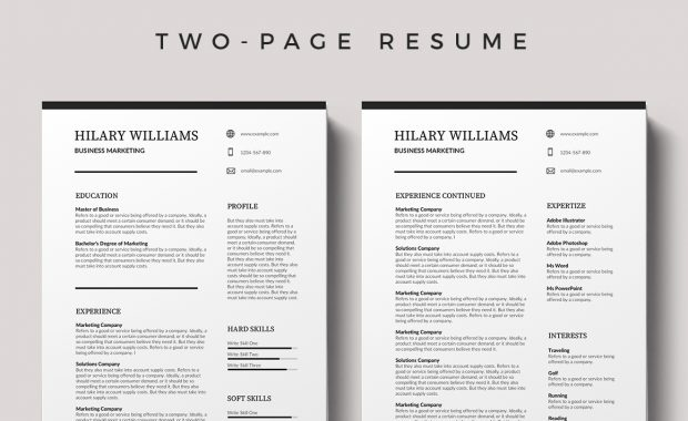 Tourcoing Free Resume Template