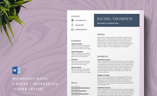 Troyes Free Resume Template