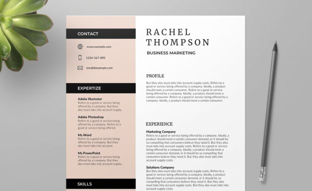Valence Free Resume Template