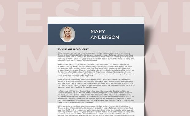 cayenne free resume template for women