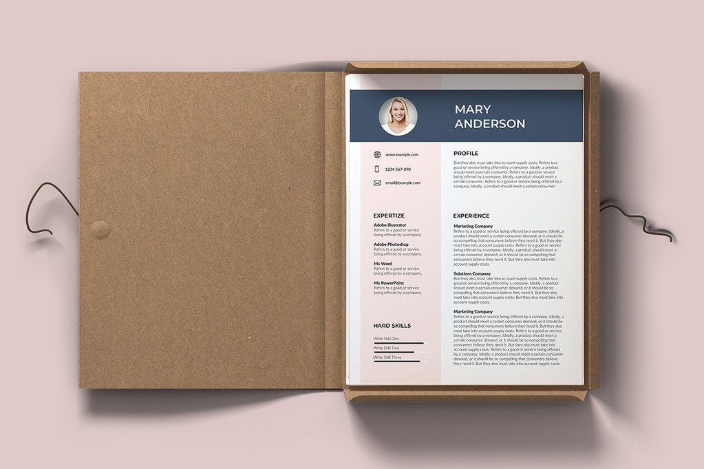 Cayenne Free Resume Template